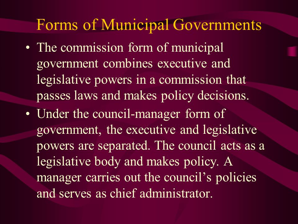 State and Local Governments - ppt download