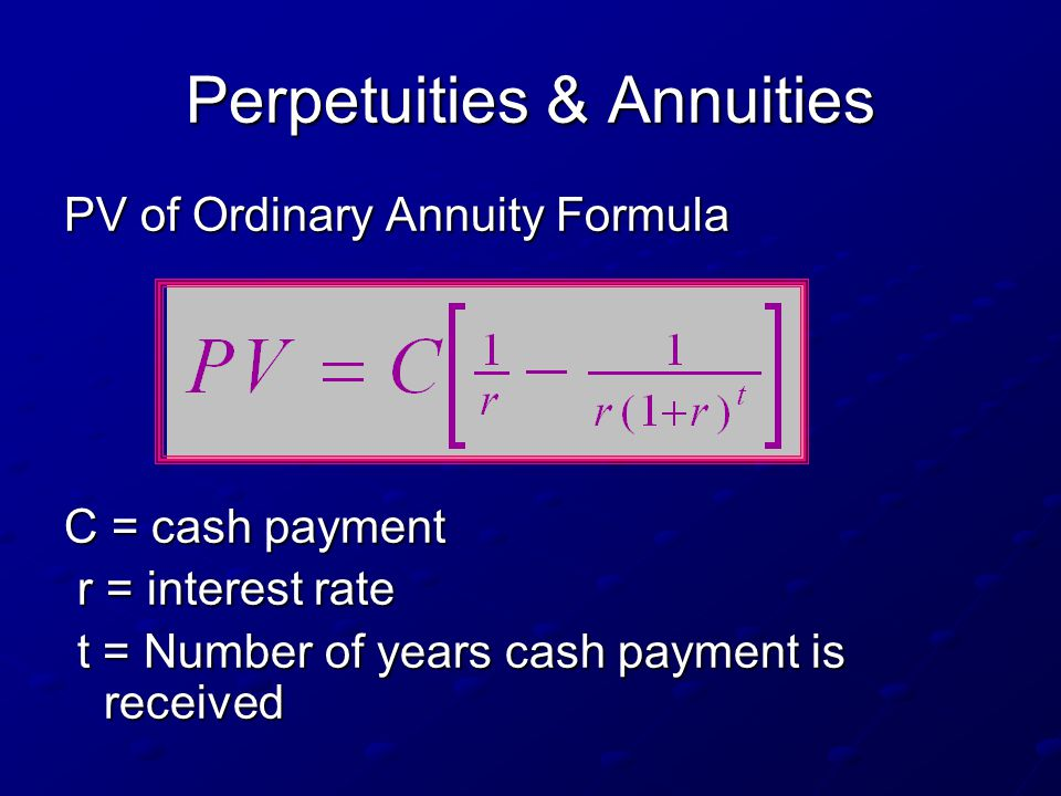 Ch. 4 - The Time Value of Money - ppt download