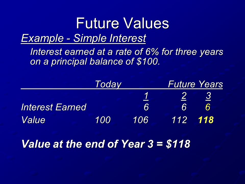 values and interest Calculating the interest rate using the present value formula can at first seem impossible however, with a little math and some common sense, anyone can quickly calculate an investment's interest .