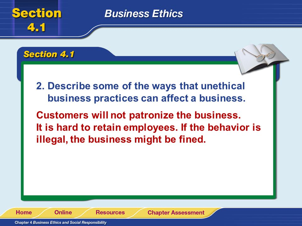 ethical and unethical business practices Some considerations on ethical and unethical issues originating fair information practices so, the ethical challenge is how to create institutions.