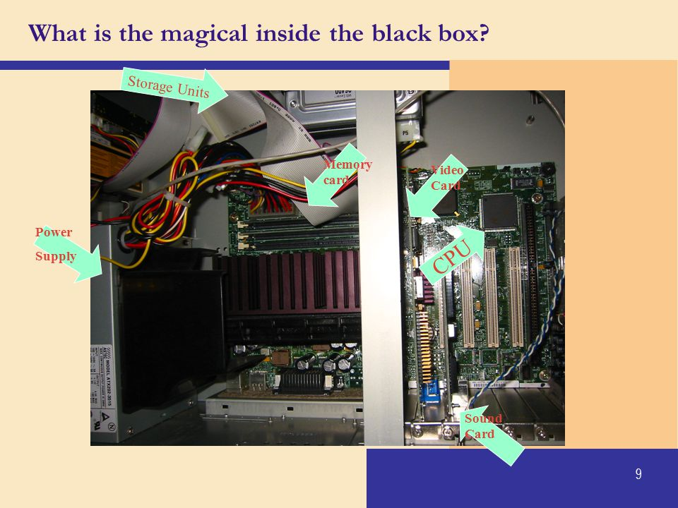 What is the magical inside the black box