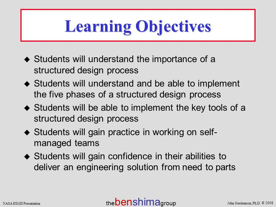 importance of learning design pdf
