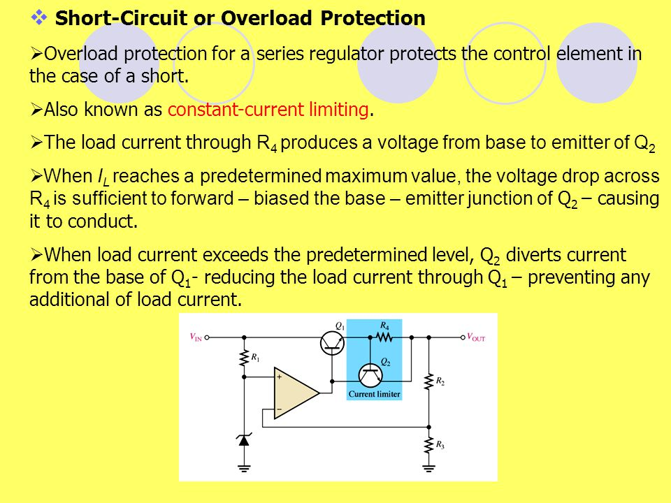 Short-Circuit or Overload Protection