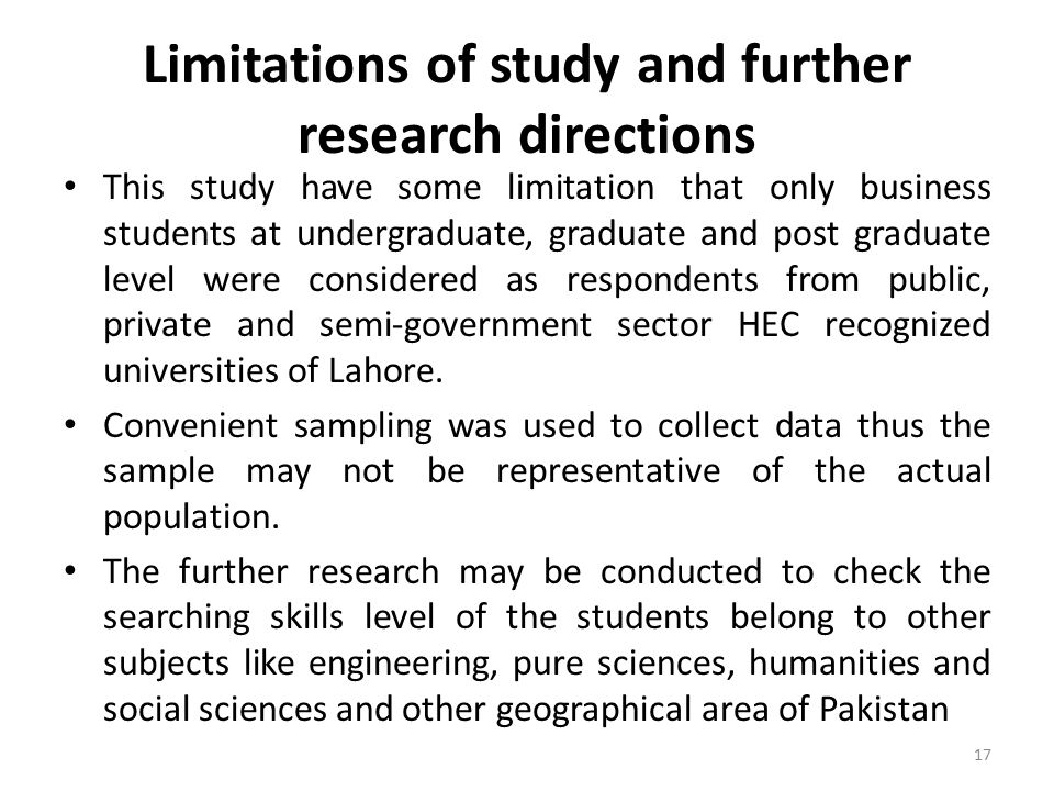 examples of limitations in research papers
