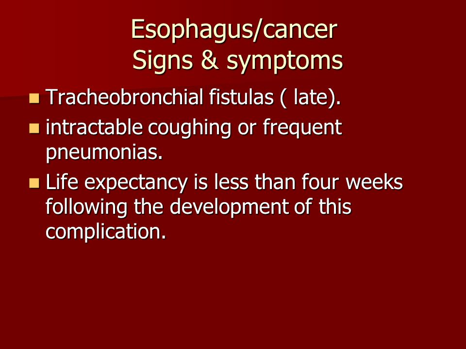 esophageal cancer scc adenocarcinoma ppt video online