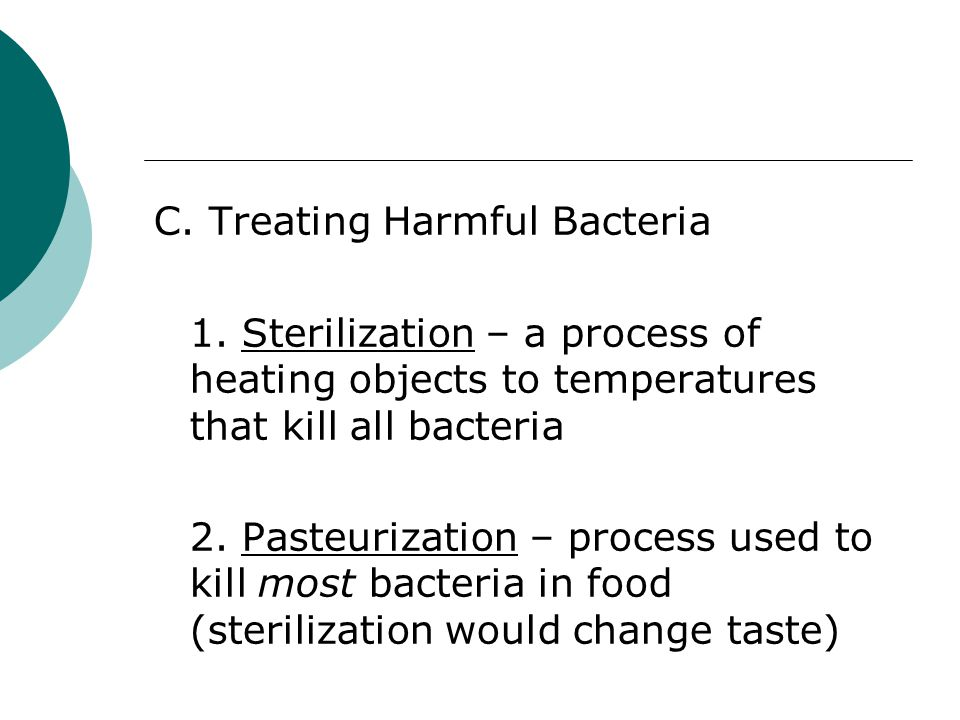 C. Treating Harmful Bacteria