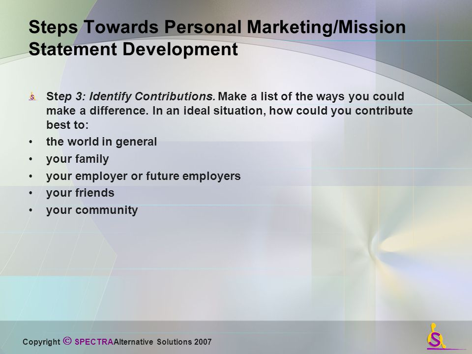 Your marketing mission . . . should you choose to accept it . . .