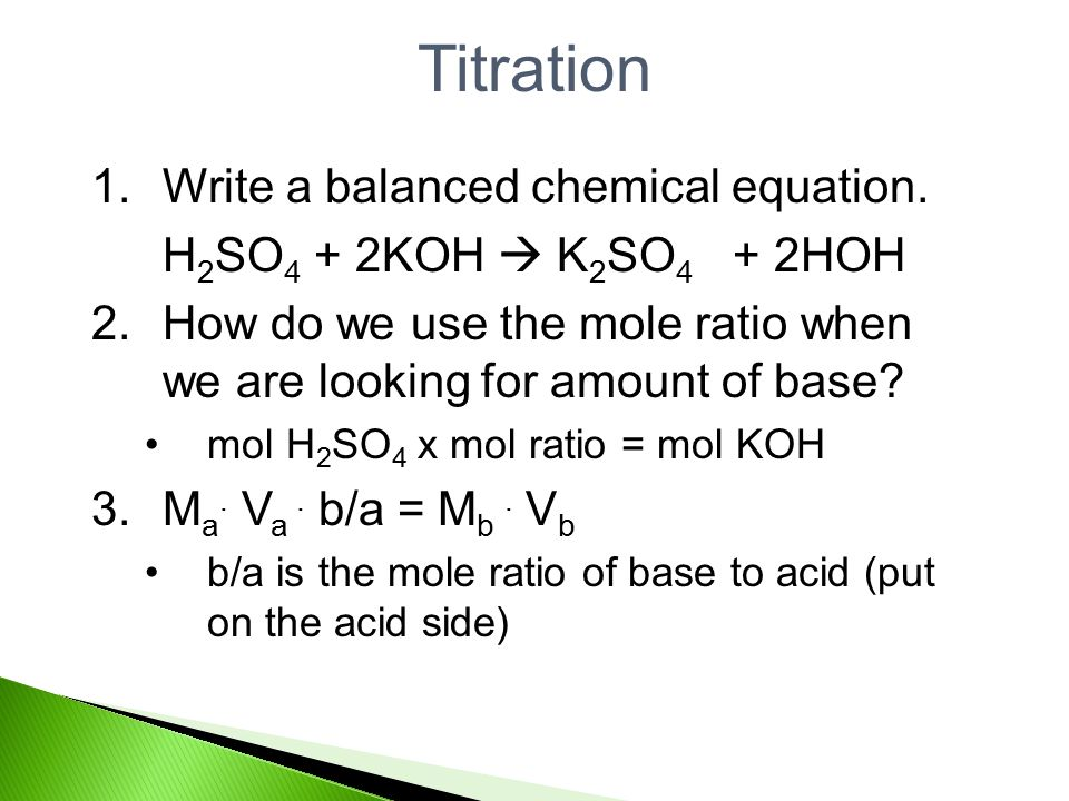 measuring ph indicators titrations