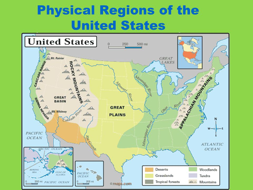 Introduction To North America Ppt Video Online Download: 8 Regions Of The United States Map At Codeve.org