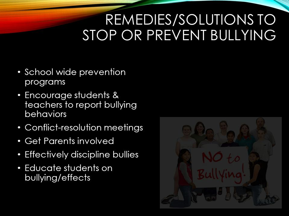 bullying in school and its effects