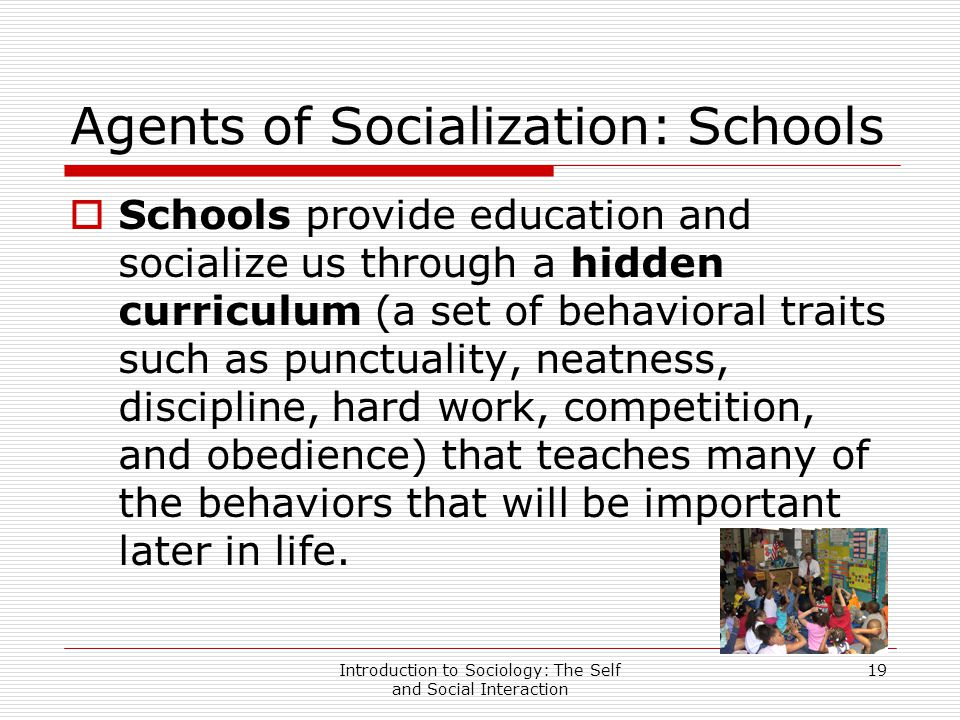 school as a socialization agent essay Agents of socialization essay is a very interesting topic  the school as an agent  of socialization is fundamentally different from the family in.