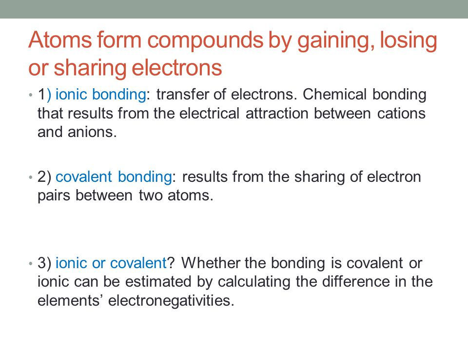 Introduction to Chemical Bonding - ppt video online download