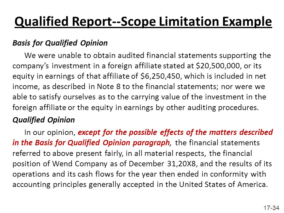 Limitations Example For Internship Report