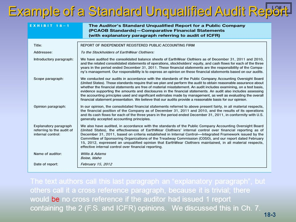 accepting and planning the audit