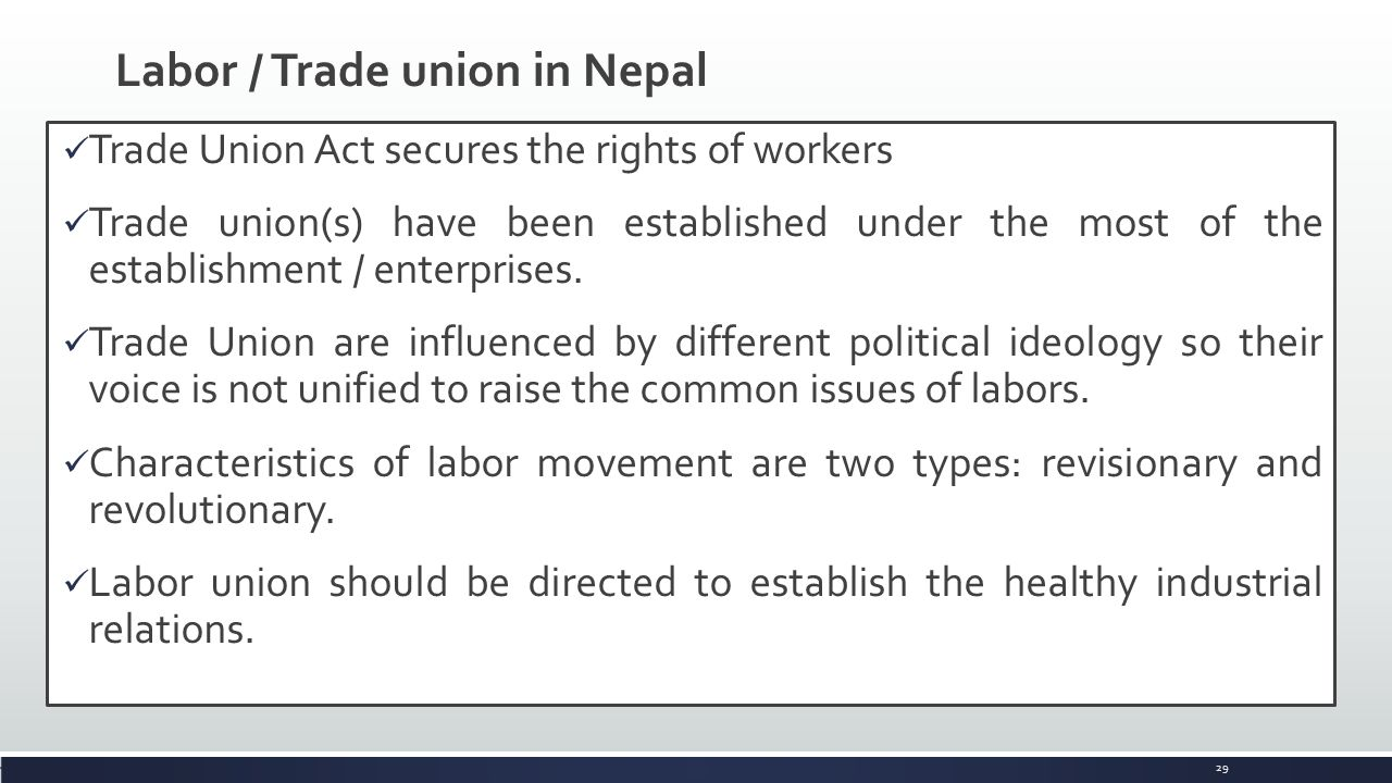 labour law of nepal Katmandu: the nepalese government on monday banned the practice of bonded labour,  bonded child labour in nepal separate law a must to abolish bonded labour.