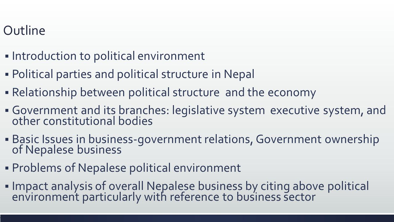 international business and government relationship