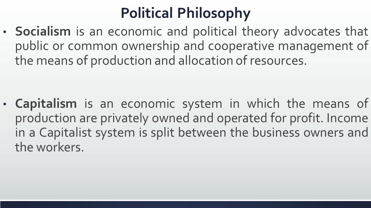 resources allocation in capitalist and socialist Abstract: discusses how resources are allocated in capitalist and socialist economies comparing the concept of interest (eg for present value calculations) with the use of capital charges (eg for calculating opportunity cost) contrasts the islamic economic system, which rejects interest but considers moral factors and the.