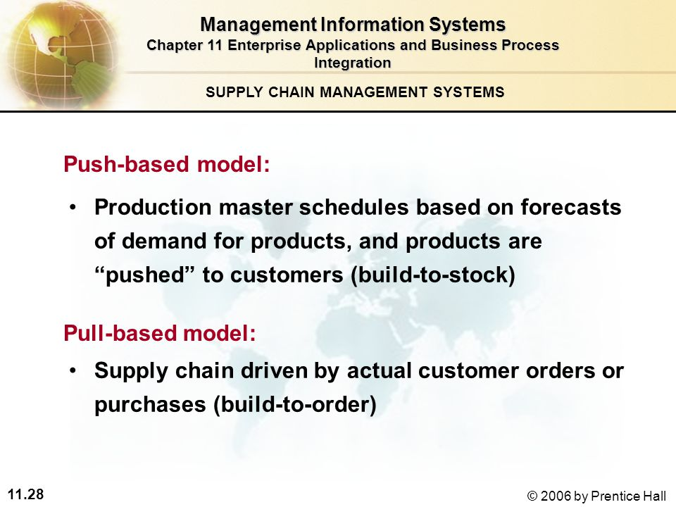 information systems in supply chain integration and management pdf