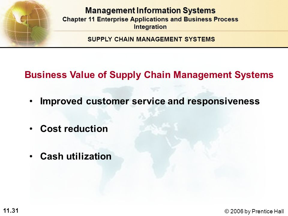 enterprise wide systems and supply chain management 2018-6-26 explore enterprise systems for customer relationship management, supply chain management and enterprise resource planning see how an enterprise information system can benefit a company.