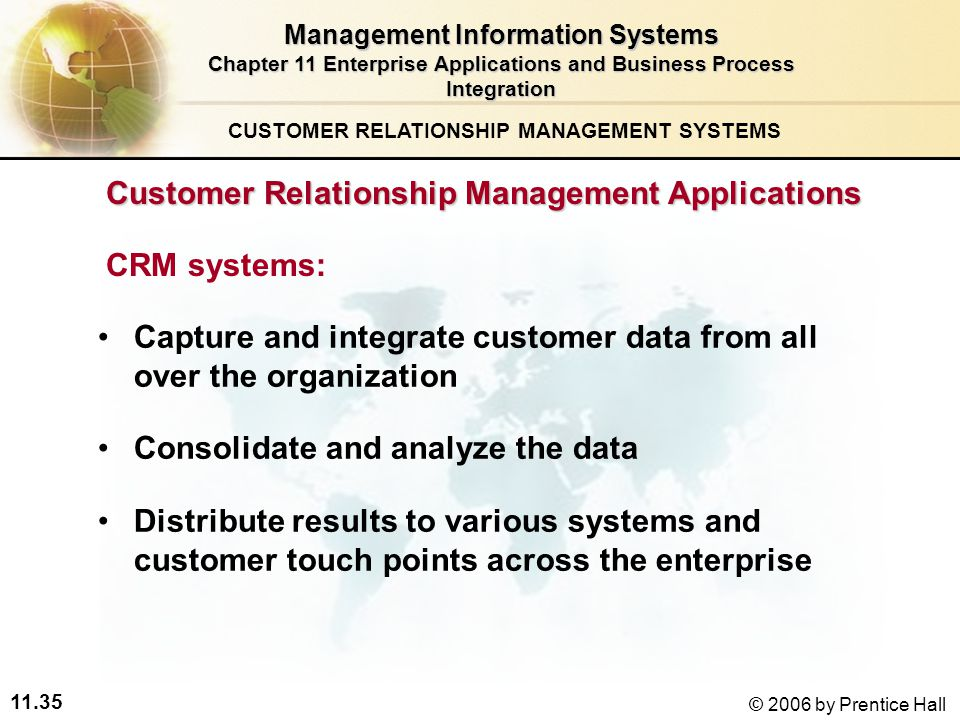 customer relationship management is an integral part of the business Have a comprehensive customer relationship management  presence is a large part of the business that  part of relationship marketing involves training.