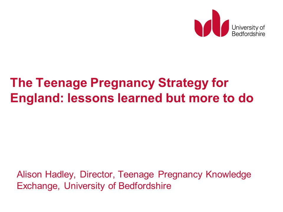 teenage pregnancy strategy essay An updated analysis of recent trends & federal expenditures associated with teenage pregnancy executive summary teen pregnancy and strategy was not in.