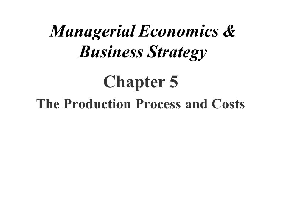 managerial economics and business strategy Managerial economics & business strategy / edition 7 formerly baye and beil,this text fits in a managerial economics course where a faculty member would like a very modern treatment with an emphasis on strategy.