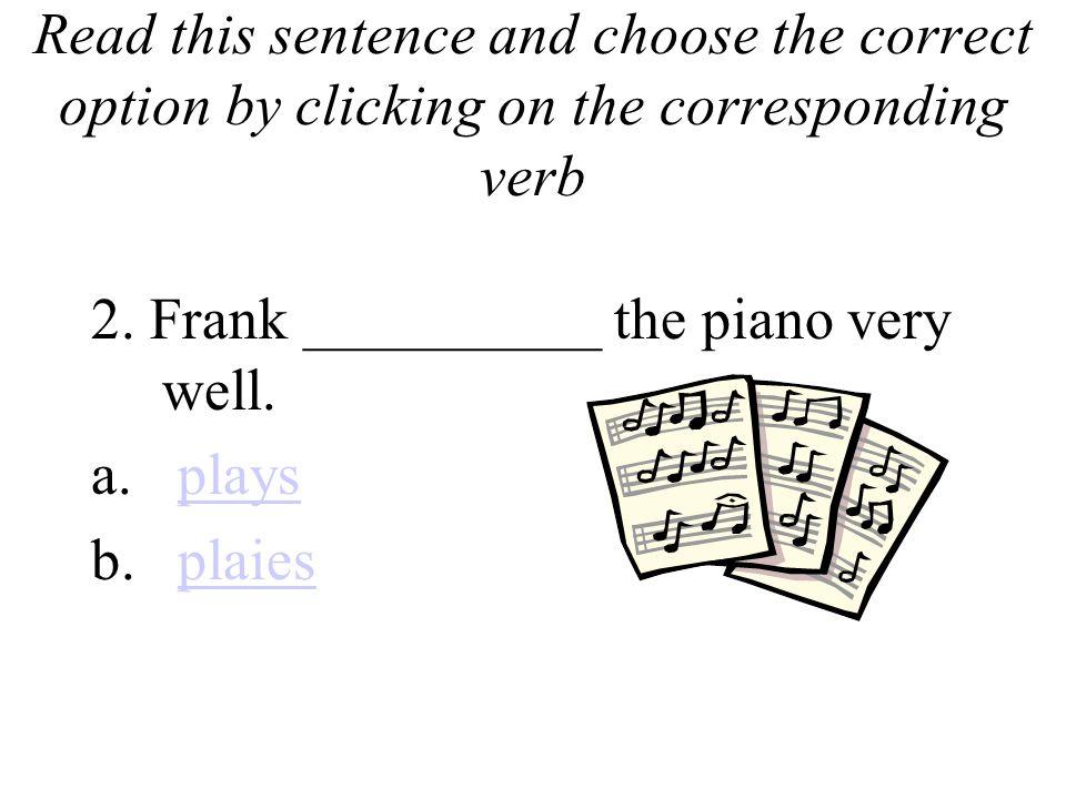 special presentation sentences