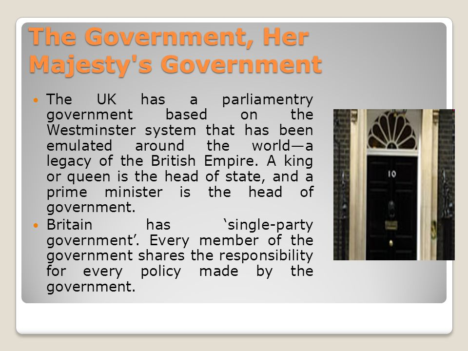 The government of the UK - ppt video online download