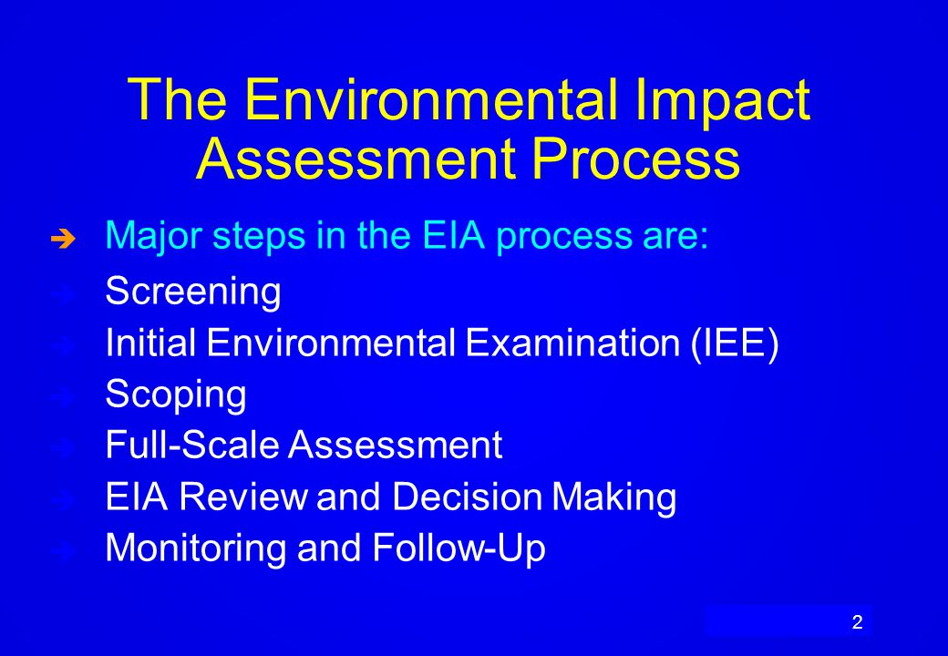 environment impact assessment process in india In theoretical literature, term, environmental impact assessment is described as  the process of identifying, predicting, evaluating and mitigating the biophysical,.