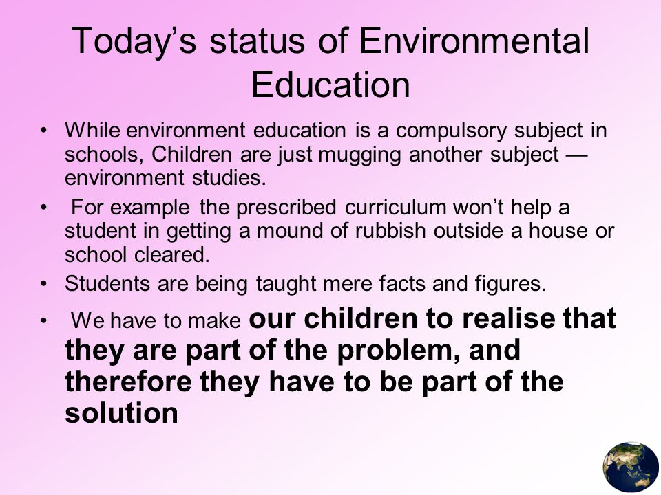 role of environment in child development Both environmental and cultural factors have an impact on early language development one theory that explains the impact of environment and culture on language development is the behaviorist theory and culture plays a role in which learning style a child will develop.