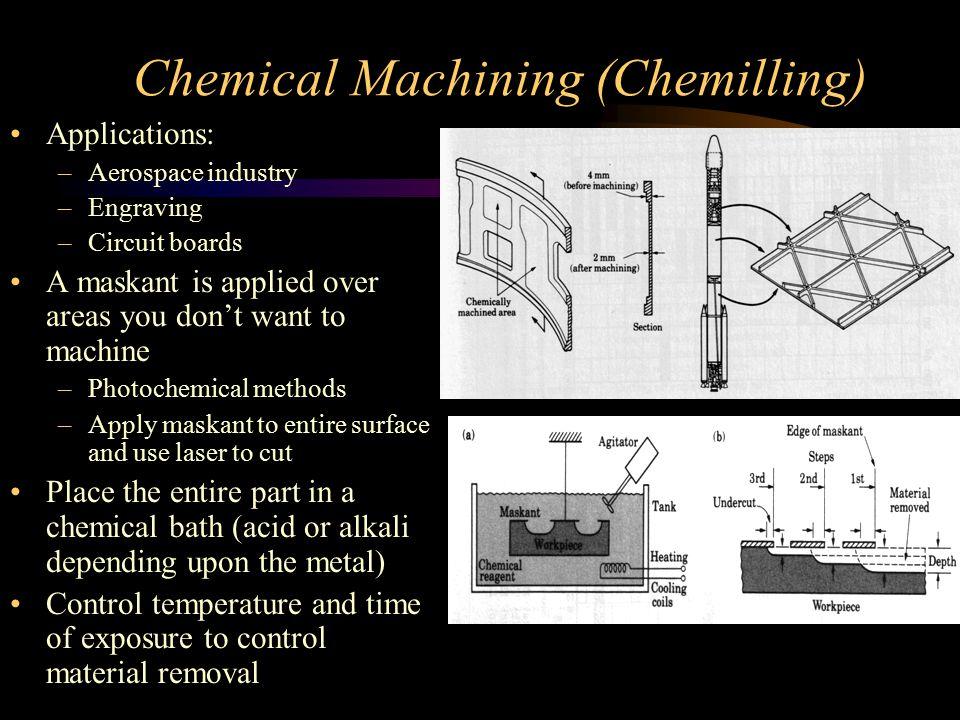 Chemical Machining (Chemilling)