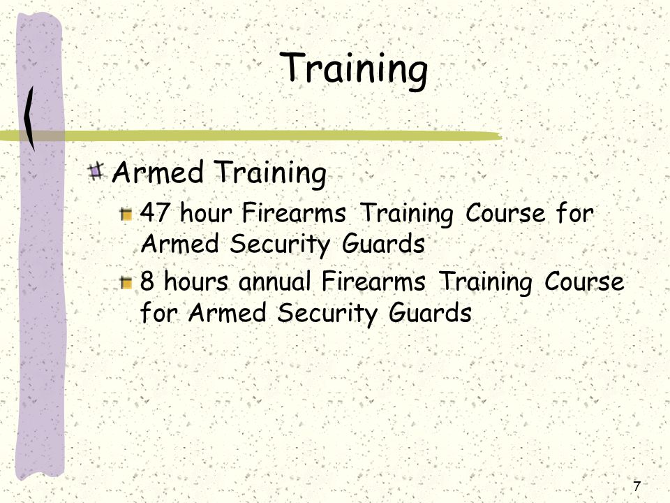 Armed security guard training nyc / Gaitlinburg tn cabins