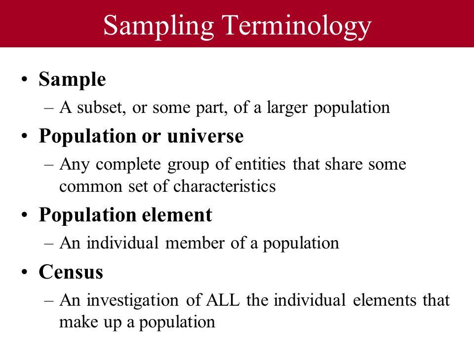 how to make sample representative of population