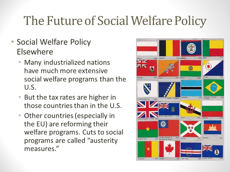 The Future of Social Welfare Policy