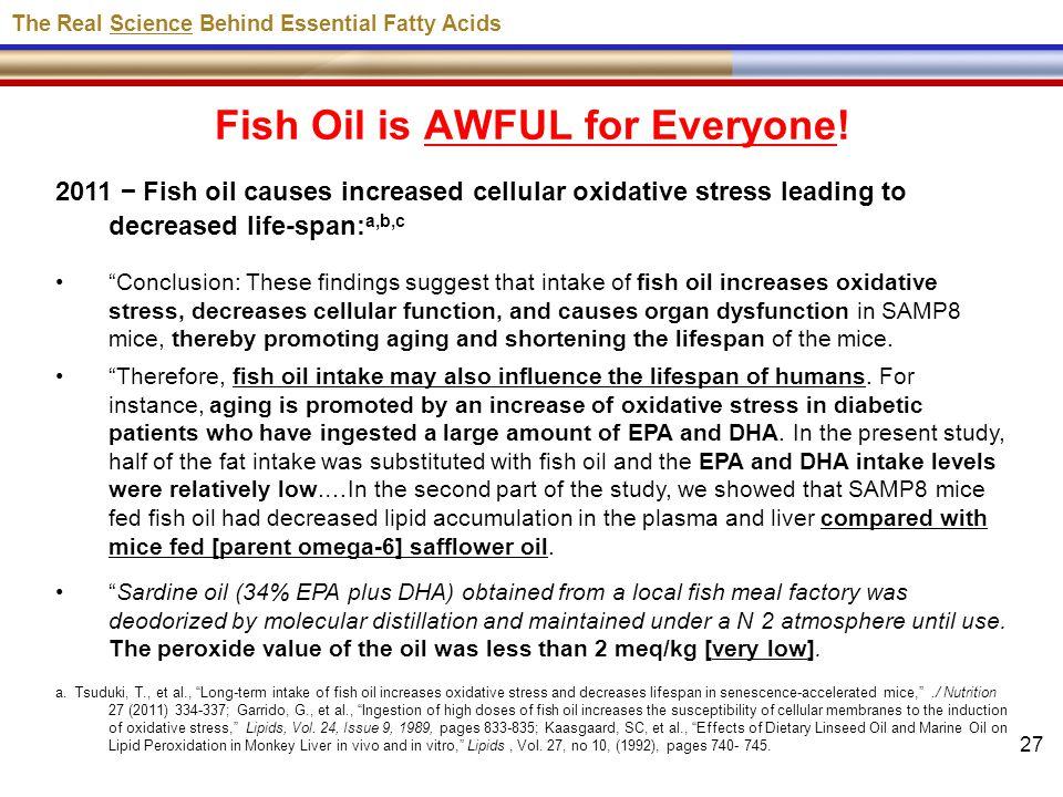 Professor brian scott peskin ppt download for Purpose of fish oil
