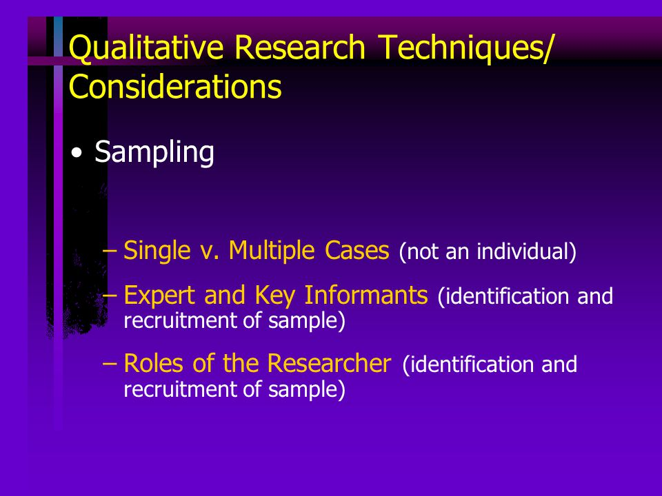 the validity and reliability of qualitative research ppt