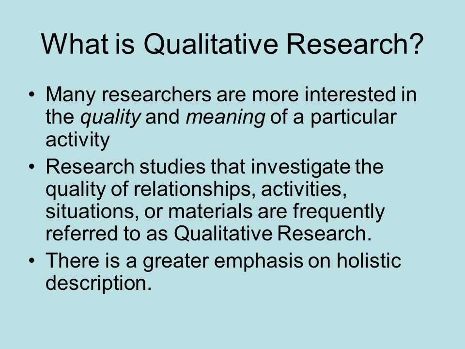 the meaning of qualitative research an Definition triangulation involves using multiple data sources in an investigation to produce understanding some see triangulation as a method for corroborating findings and as a test for validity crabtree b qualitative research guidelines project.