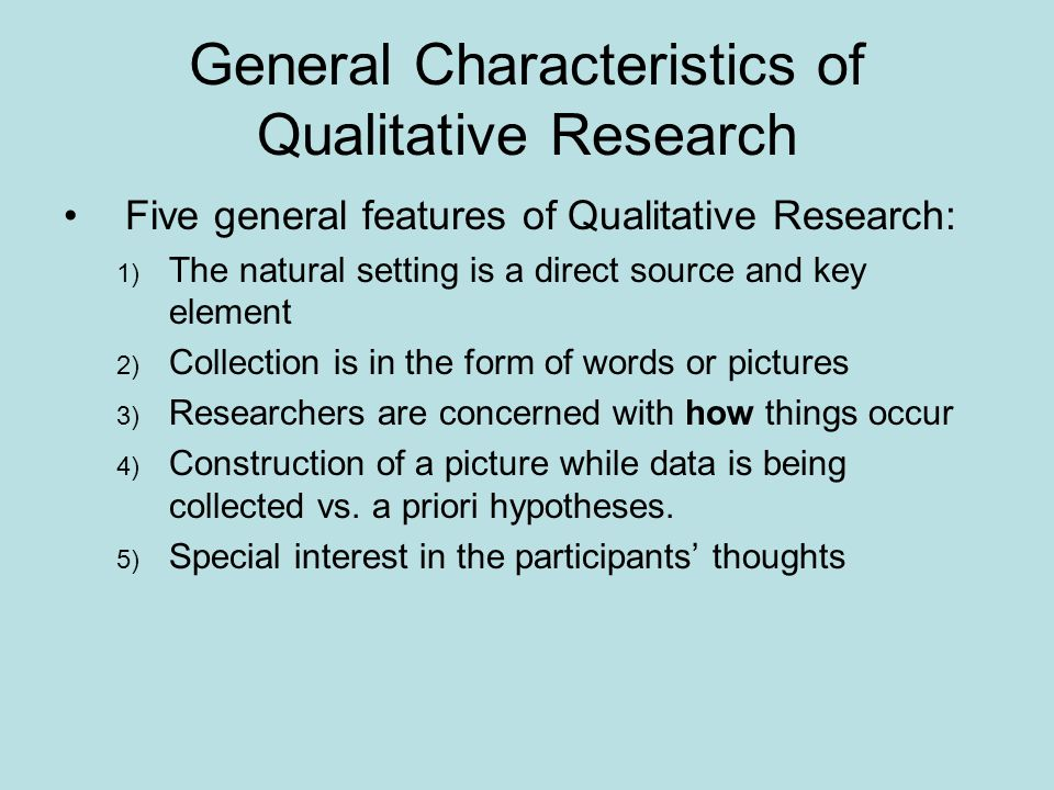 key features of quantitative research Key elements of the research  of each instructor in order to determine the common features of  can do in quantitative research, .
