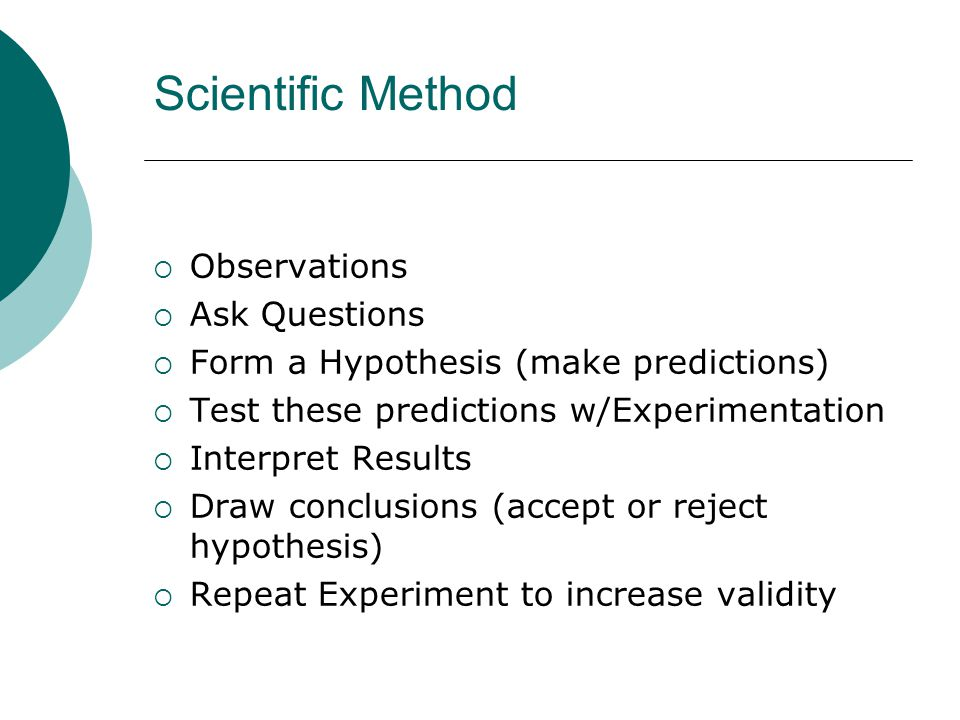 how does hypothesis testing contribute to the scientific knowledge base Question hypothesis testing and experimental study stats 1 how does hypothesis testing contribute to the scientific knowledge base what is one example of a null hypothesis statement.