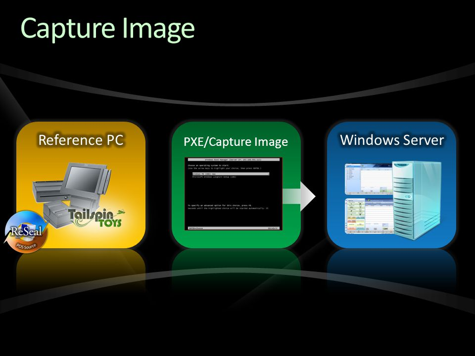 Capture Image Reference PC Windows Server PXE/Capture Image