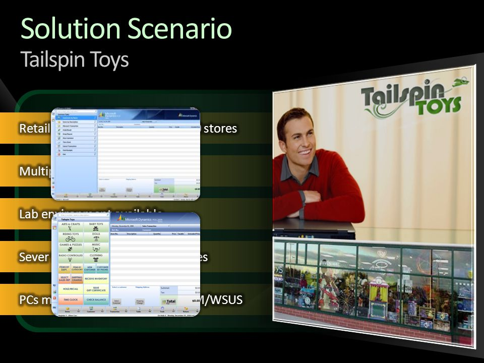 Solution Scenario Tailspin Toys