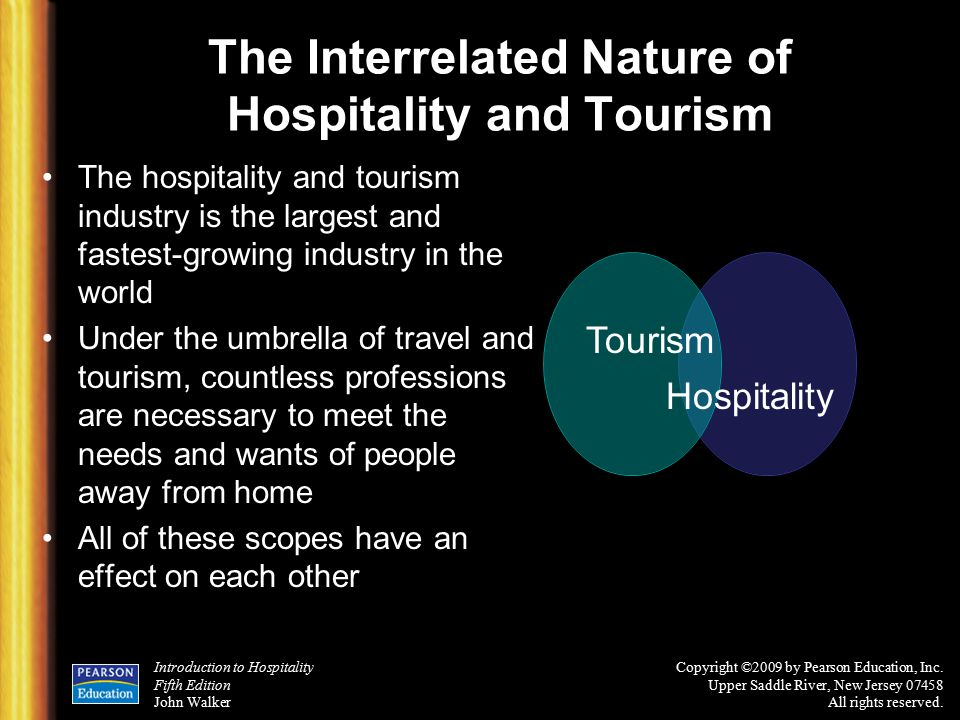 tourism essays hospitality industry The hospitality industry offers a wide range of career options, from cooking to hosting, to running a resort to be successful in the industry, you'll need certain qualities that employers look for and.