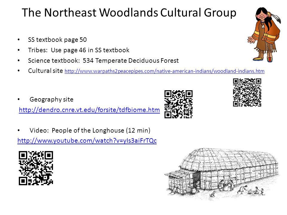The Northeast Woodlands Cultural Group