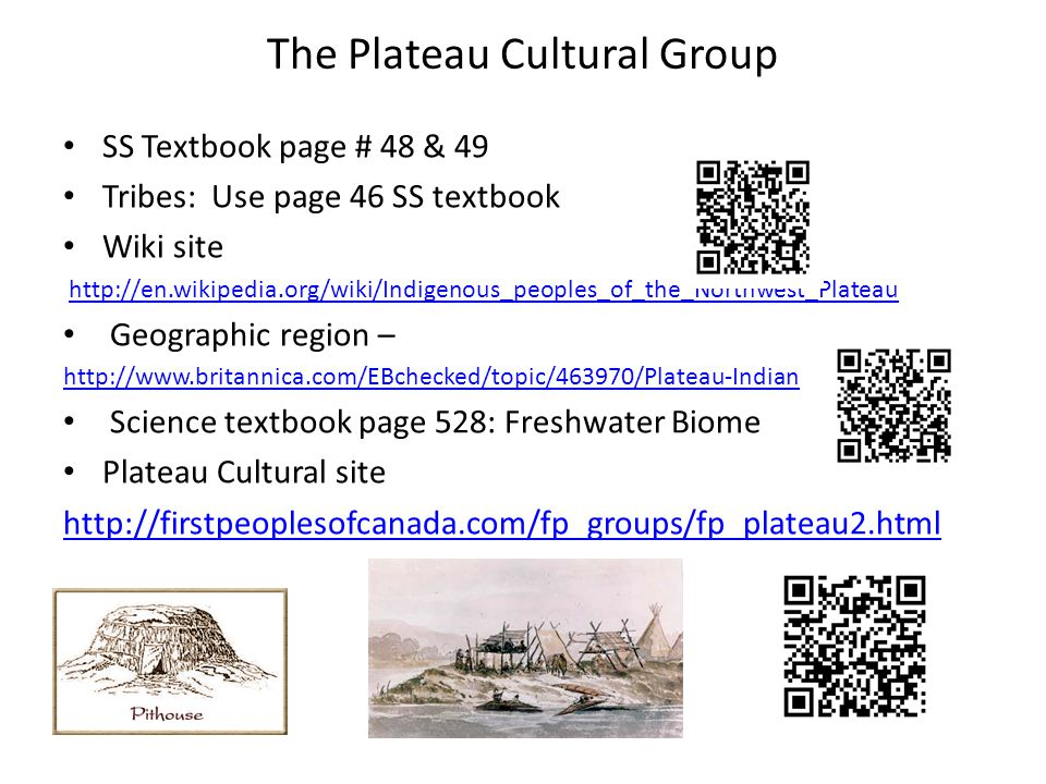 The Plateau Cultural Group