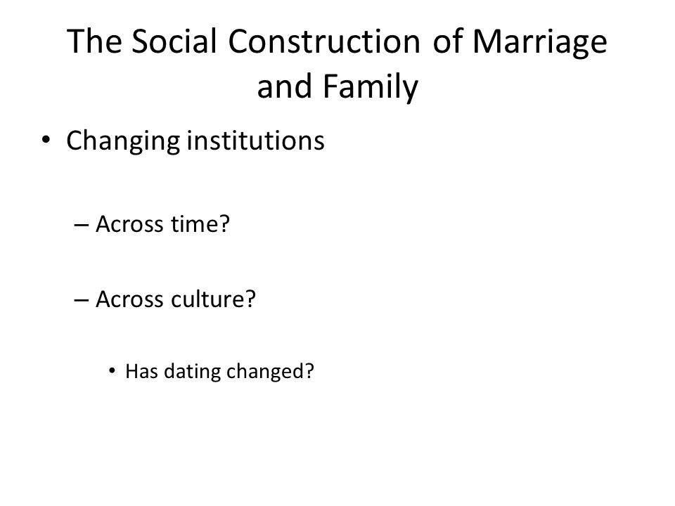 an introduction to the origin of marriage Chapter 1 (introduction to marriage and family ) learn with flashcards, games, and more — for free.