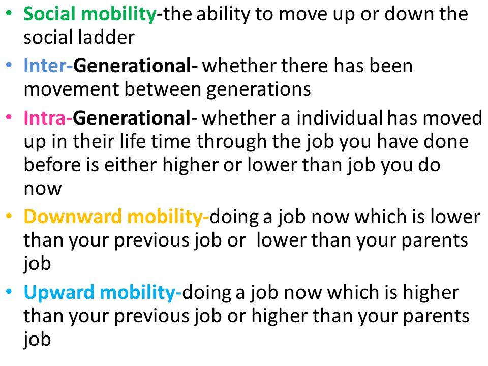 social mobility in sociology pdf