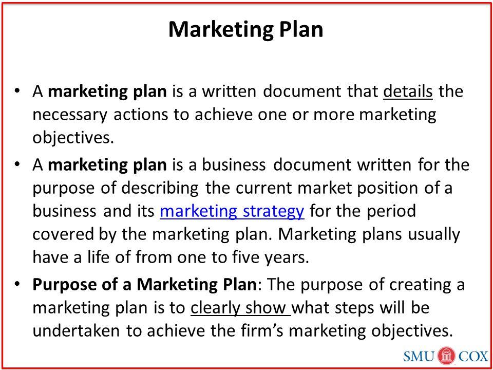 marketing strategy document