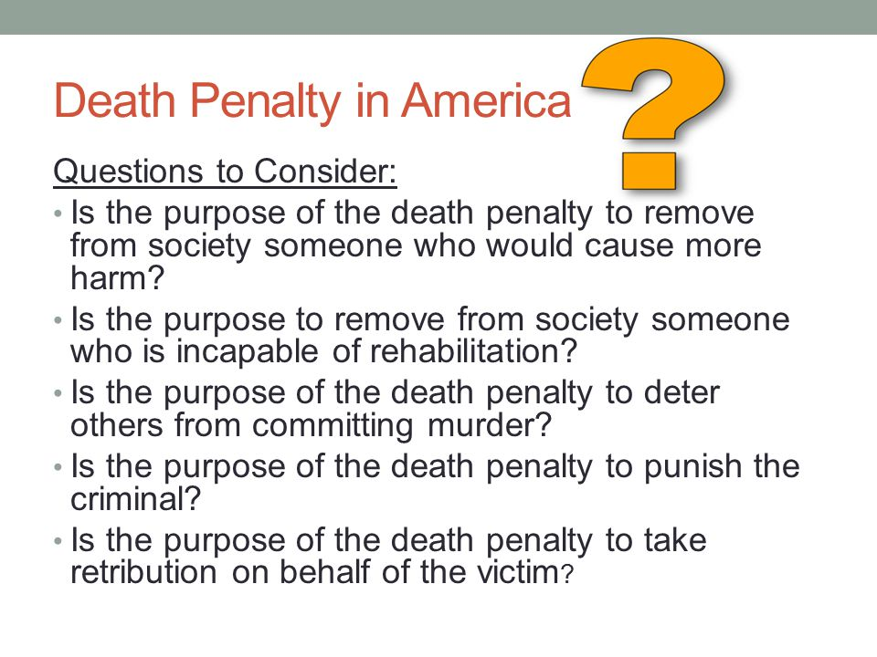 advantages and disadvantages of death penalty We understand that capital punishment is a difficult and complex issue but, as an   please keep an open mind and take advantage of the resources below and.