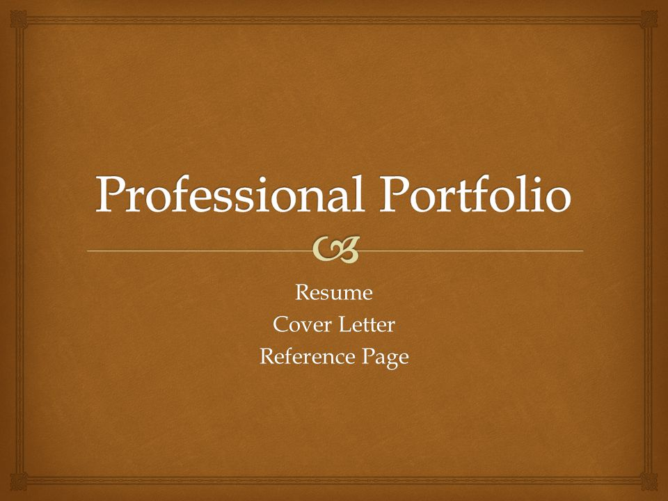 Professional portfolio ppt video online download for Professional portfolio nursing template