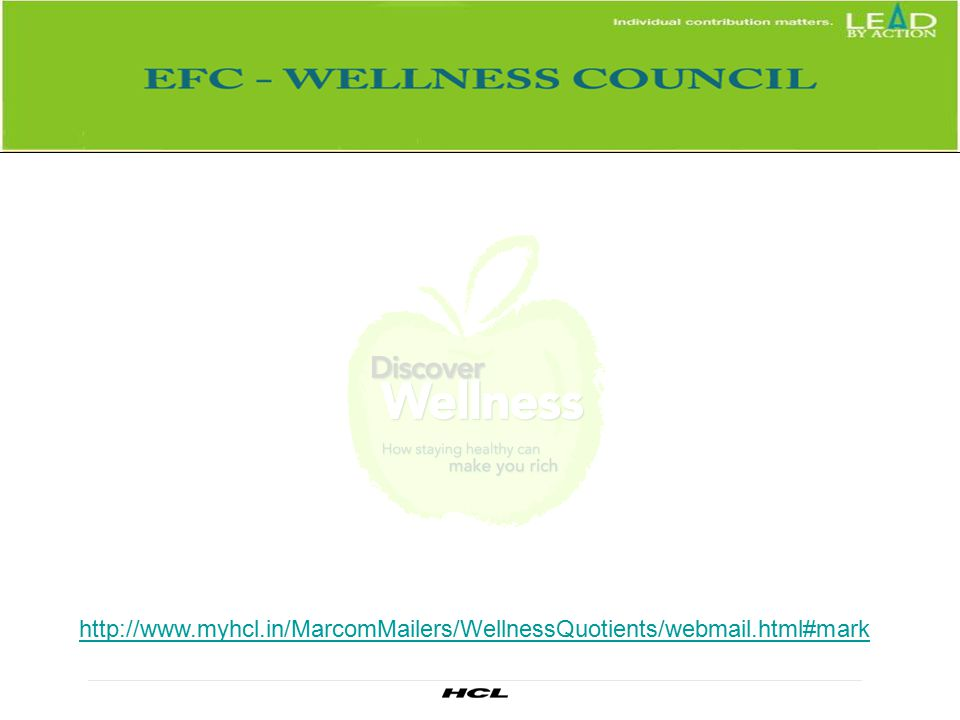 myhcl. in/MarcomMailers/WellnessQuotients/webmail
